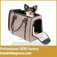 Luxury Pet Carrier High End Sleek Dog and cat carrier bag