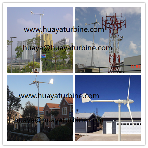 ROOFTOP! 1kw small wind turbine, 1kw wind generator permanent magnet generator 3 phase AC , 2.8m blades rotor, 9m/s