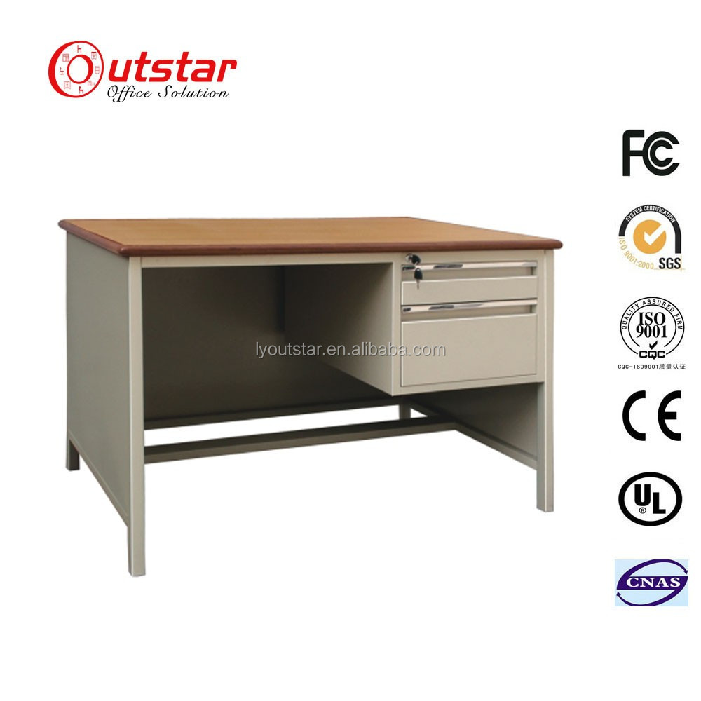Universally Applicable Modern Style Director Office Steel Table