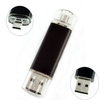 Bulk cheap 2 in 1 OTG Usb Memory stick for Android Mobile Phone/Computer