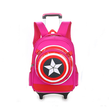 Cartoon Custom Travel Schule Kinder Student Koffer Trolley Tasche Rucksack
