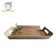 Hot Wood Communion Lucite Cafereria Serving Trays