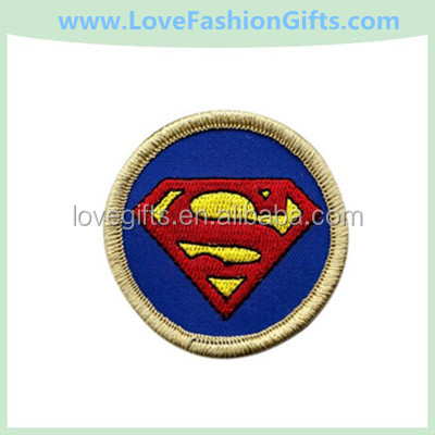 Superman embroidery iron on patch applique