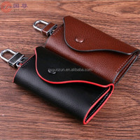 Men's Car Key Holder Accessory Genuine Leather Wallet Chain Wallet Case Hot Sell
