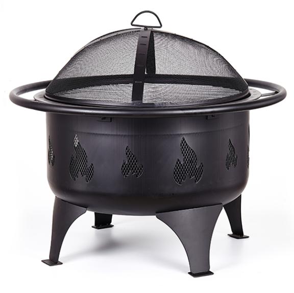 BUCA PER IL FUOCO BARBECUE ROTONDO A CARBONE BBQ CAMPEGGIO OUTDOOR REGOLABILE Grill Fire Pit
