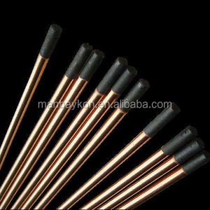 copper coated carbon electrodes