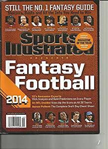 SPORTS ILLUSTRATED, FANTASY FOOTBALL, 2014 ( STILL THE NO.1 FANTASY GUIDE )