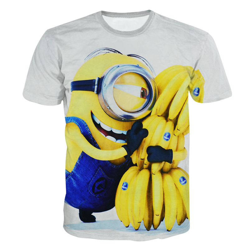 Get Quotations · New Fashion women men Despicable Me Minions funny t-shirt  Casual print t shirts 32a9e935f8