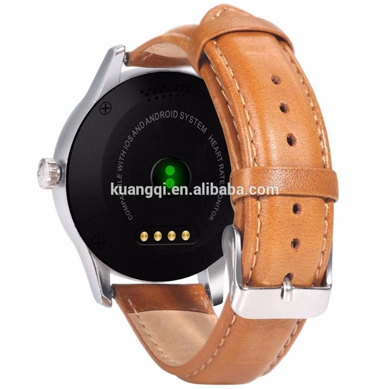 Multifunctional full round smart watch gsm smart watch watch phone china goods