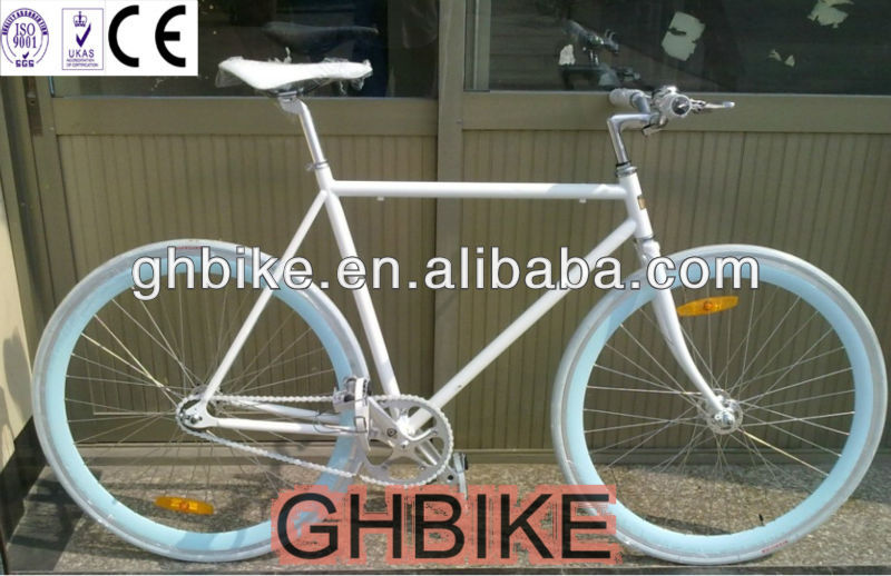 700c CO2 welding fixie bike