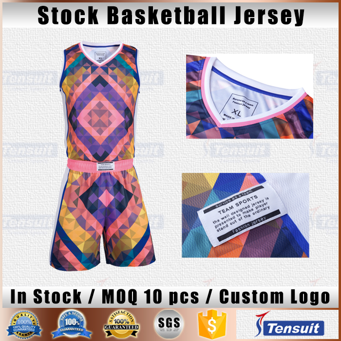 Wholesale blank digital printing basketball uniform design your own jersey basketball in cheap couple basketball playing wear
