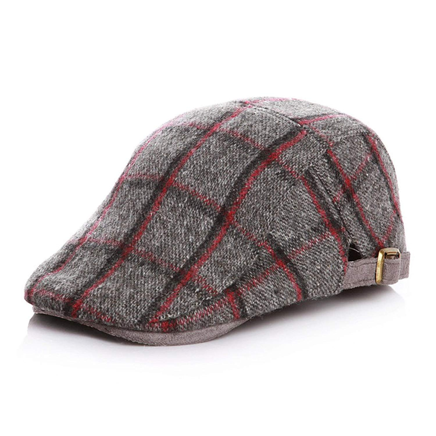 9aa23044835 Get Quotations · ANJUY Caps Kids Tweed Page Boy Newsboy Baby Kids Driver Cap  Hat