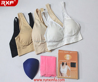 Double Layer Seamless Ahh bra Genie Bra Yoga Bra As seen on TV