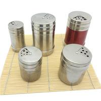 stainless steel spice shaker bottle tin
