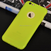 Chinese Supplier Clear Matte Frosted Shield soft TPU Colorful Plastic Back phone Cover Case For iPhone 6 6s plus