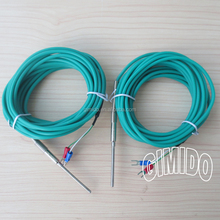 K Type Thermocouple With Silicon Lead Wire 5M
