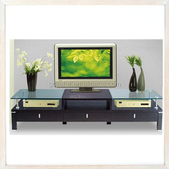 Ultra Thin Living Room Lcd Tv Stand Wooden Furniture