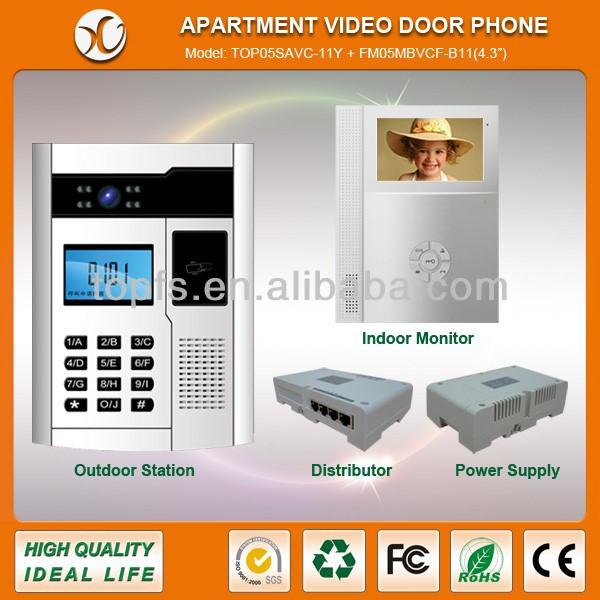 Apartment Building Video Intercom System, Apartment Building Video ...