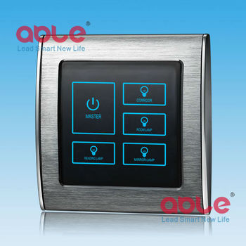 Intelligent Touch Screen Light Control Switch Touch Switch Buy Touch Screen Light Switch Touch Lamp Control Switch Light Control Switch Rs485