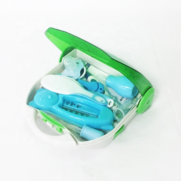 SL-9022 Fashion medical Baby Care Kit with ABS material color plastic emergency case