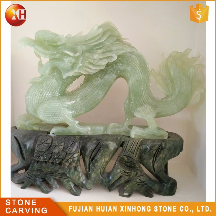 High Quality Reality Precious Chinese Real Jade Dragon