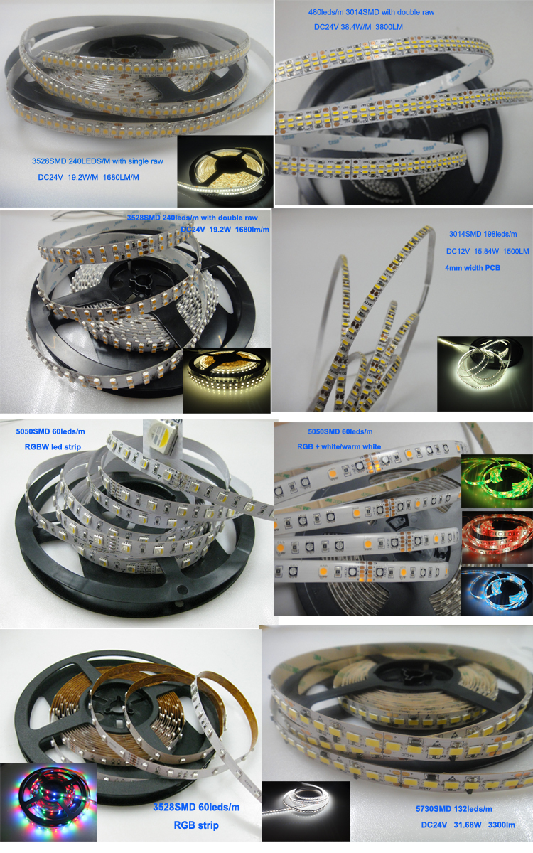 Can Be Laterally Curved S Shape 2835 Smd Flexible Strip Led ...