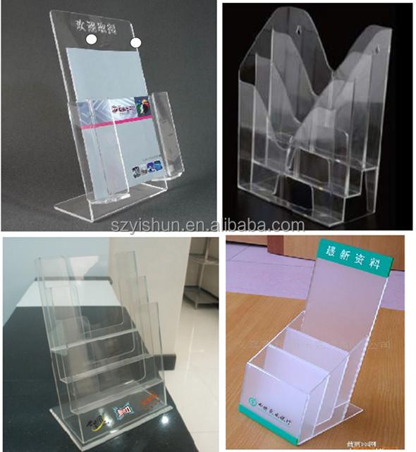 Ransparency Led Acrylic Display,Led Acrylic Paper Holder,Acrylic ...