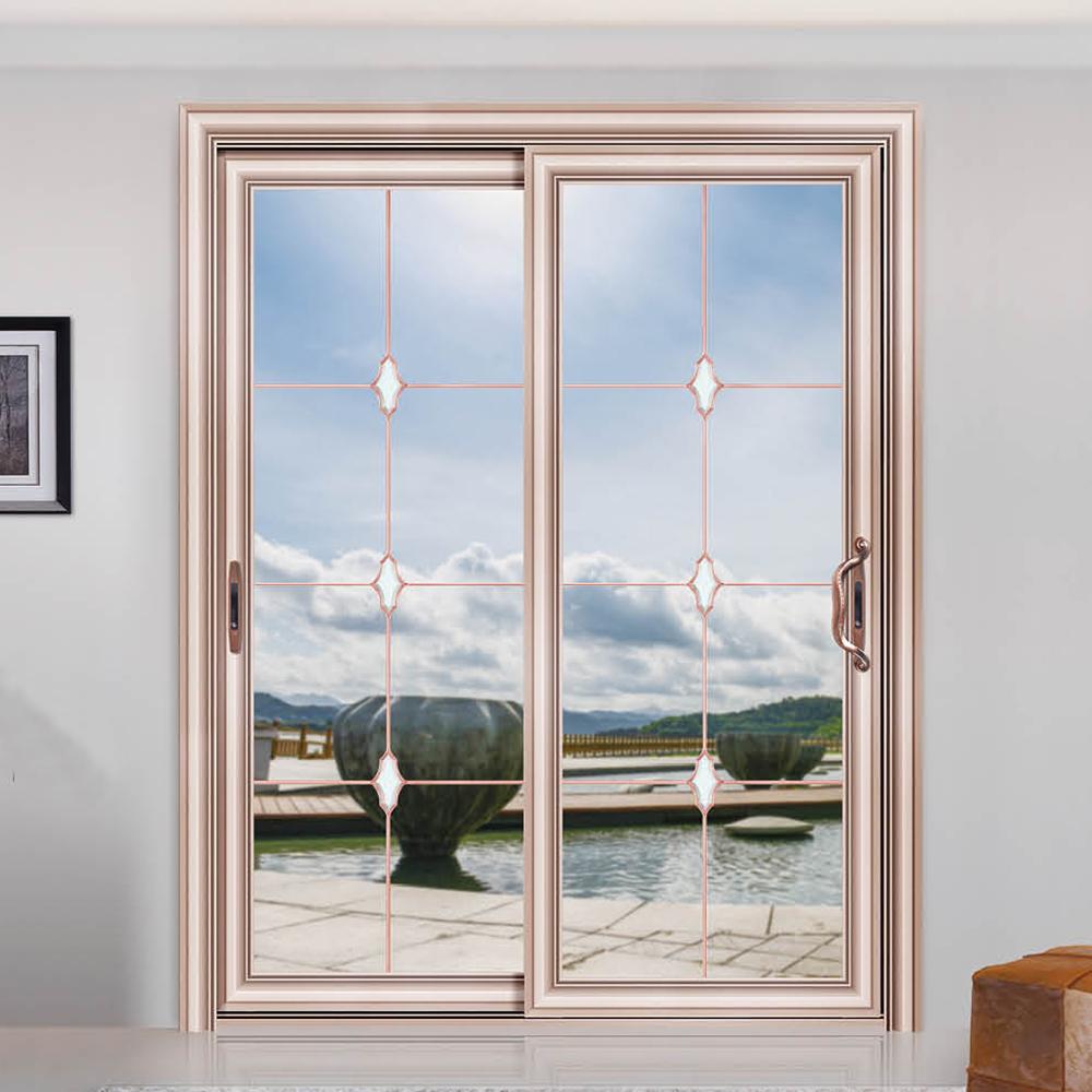 de alta calidad de aleacin de aluminio de puertas de vidrio corredizas de vidrio de china