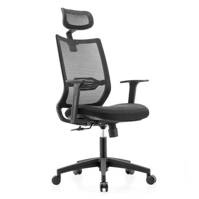 Most Durable Full Swivel Mesh Executive Office Chair With Adjule Lumbar