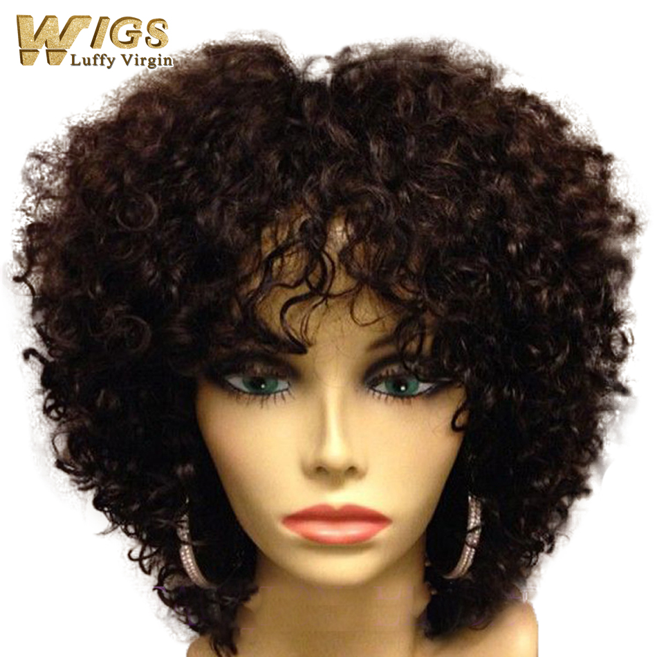 Natural Style Human Hair Wigs