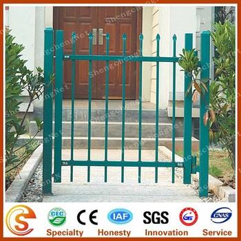 Artistic Iron Swing Metal Pipe Gates Design Front Gate Designs