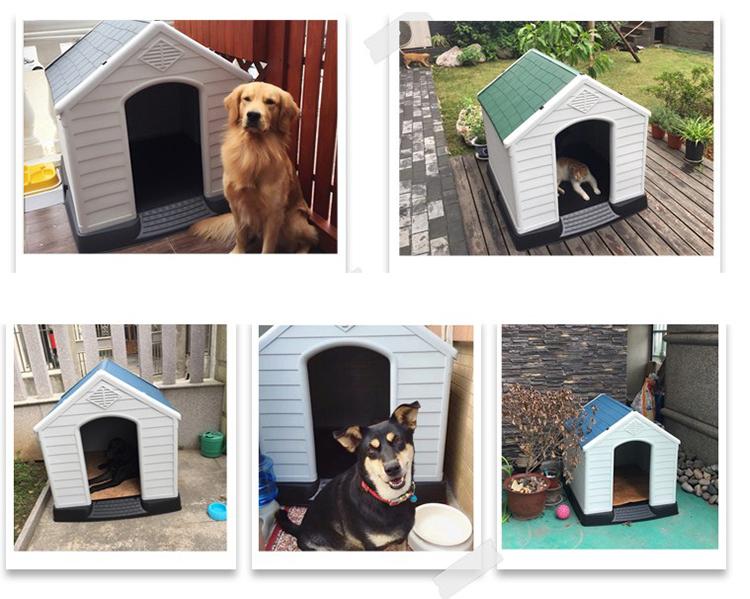 SHILEE 2018 Wholesale hot sale cheaper plastic Pet dog house