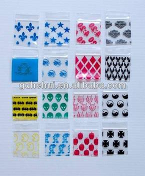 Custom Printed Plastic Mini Ziplock Bags