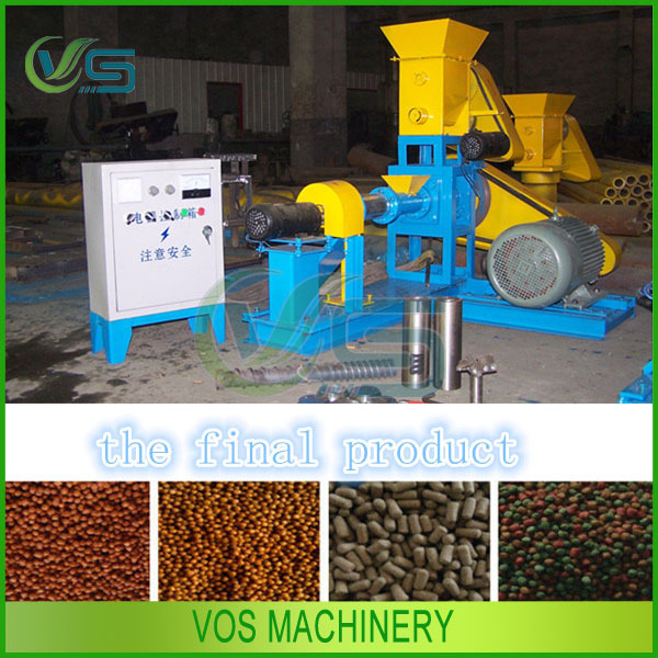home used animal feed pelletizer/fish feed pellet machine/floating fish feed mill for sale