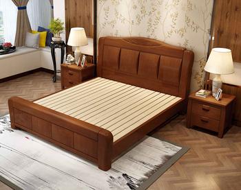 Holzbett design  Neueste Design Holzbett Einstellbare Aufbewahrungsbox Bett Design ...