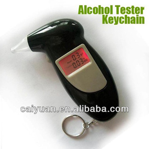 Dual display alcohol breath tester stock