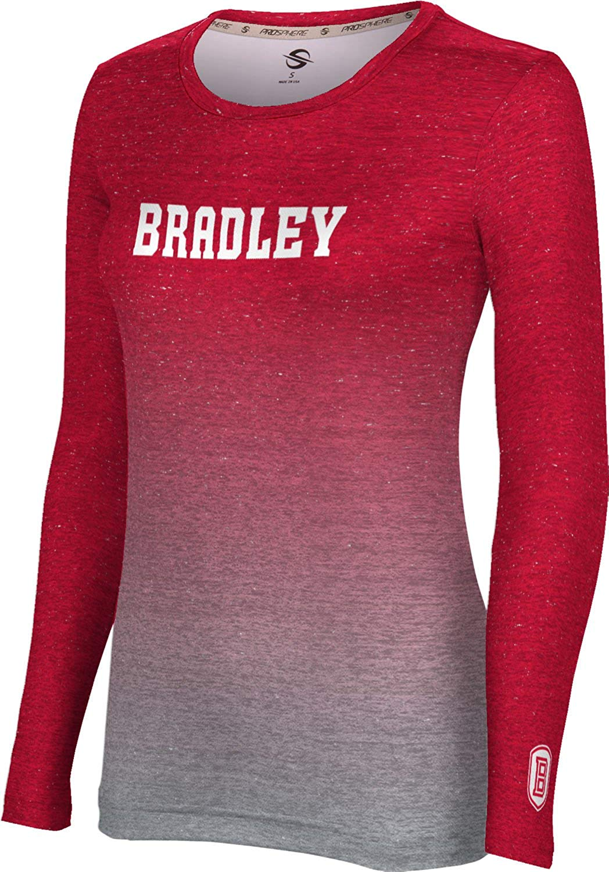 95c1377bf Get Quotations · ProSphere Bradley University Women's Long Sleeve Tee -  Gradient