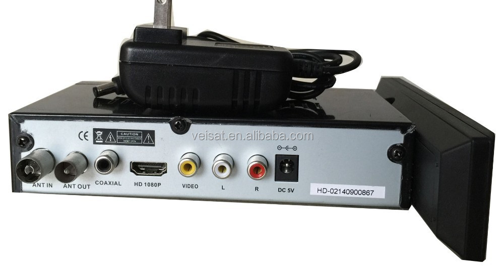 Russia DVB T2 DVBT2 1080P Full HD USB Digital TV Receiver from Shenzhen Factory