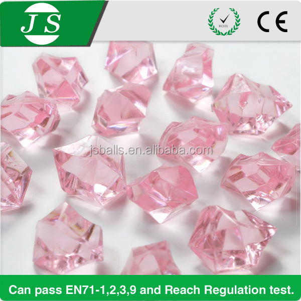 most popular decorative garden acrylic crystal gems stones rocks for wedding party