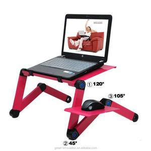 Color Options Foldable Laptop Bed Table