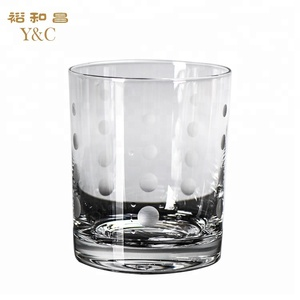Chinese factory direct spot whiskey pint glass wholesale
