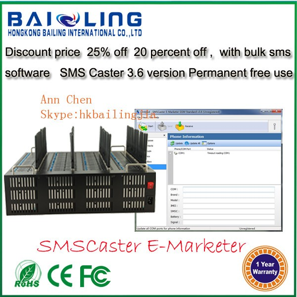 Professional Low Cost Bulk Sms 64 Port Gsm/gprs Modem Pool Low Price Multi  Sim Modem - Buy Low Price Multi Sim Modem,64 Port Modem Pool,64 Port Gsm