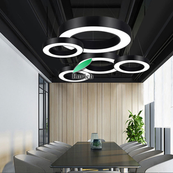 Circular dining room chandeliers lamps modern led pendant light, View  Circular modern led pendant light, OEM Product Details from Shenzhen Enrich  ...