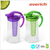 2.2L Fruit infuser water plastic juice pitcher
