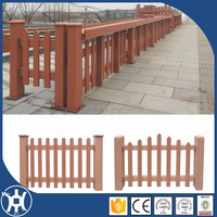 wooden plastic composite garden fence panels for sale