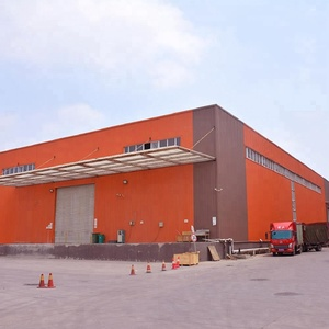 Industrial hall steel structure prefab metal warehouse