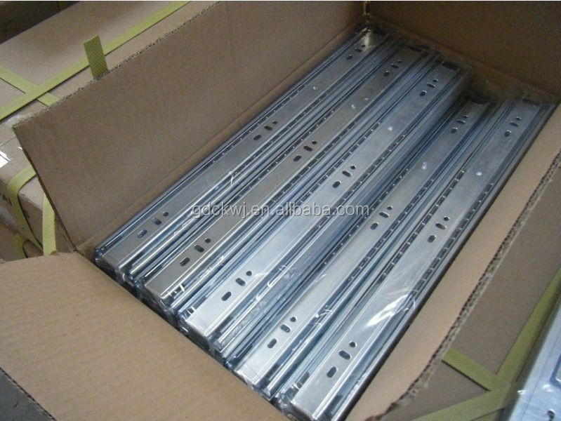 Kitchen Cabinet Drawer Slide Channel Full-extension Ball Bearing ...