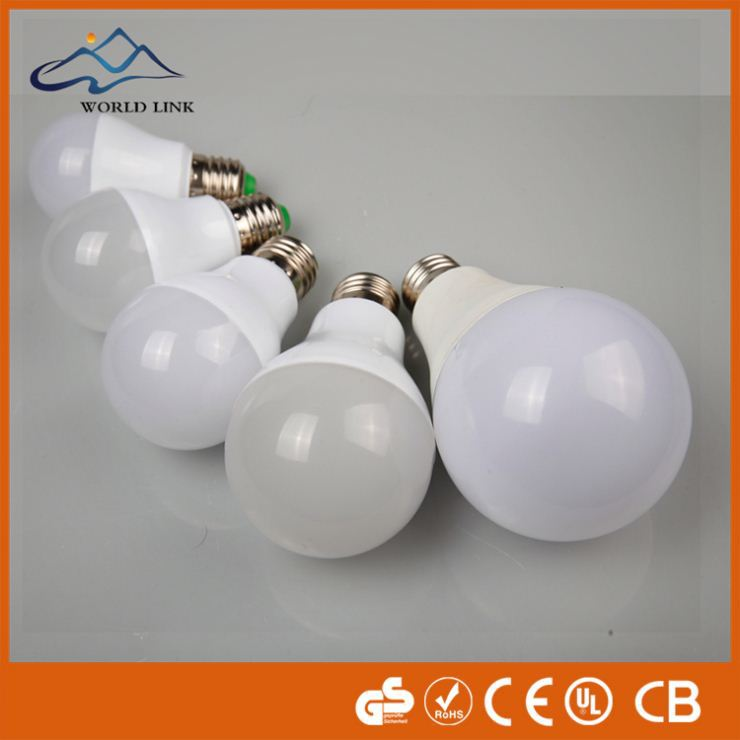 3 years warranty 3w 5w 7w lamp with sensor motion ce rohs approved 5w 12v led bulb e27