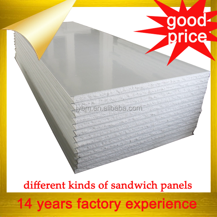 factory low price eps sandwich panel for roof and wall