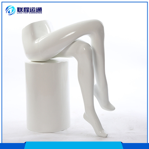 Fancy Cheap Female Sitting Leg Lower Half Body Mannequin Display